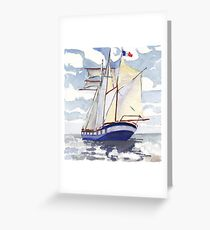 Belem - Tall ship of France Greeting Card