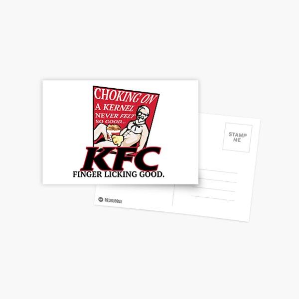 KFC: CHOKING ON A KERNEL Postcard