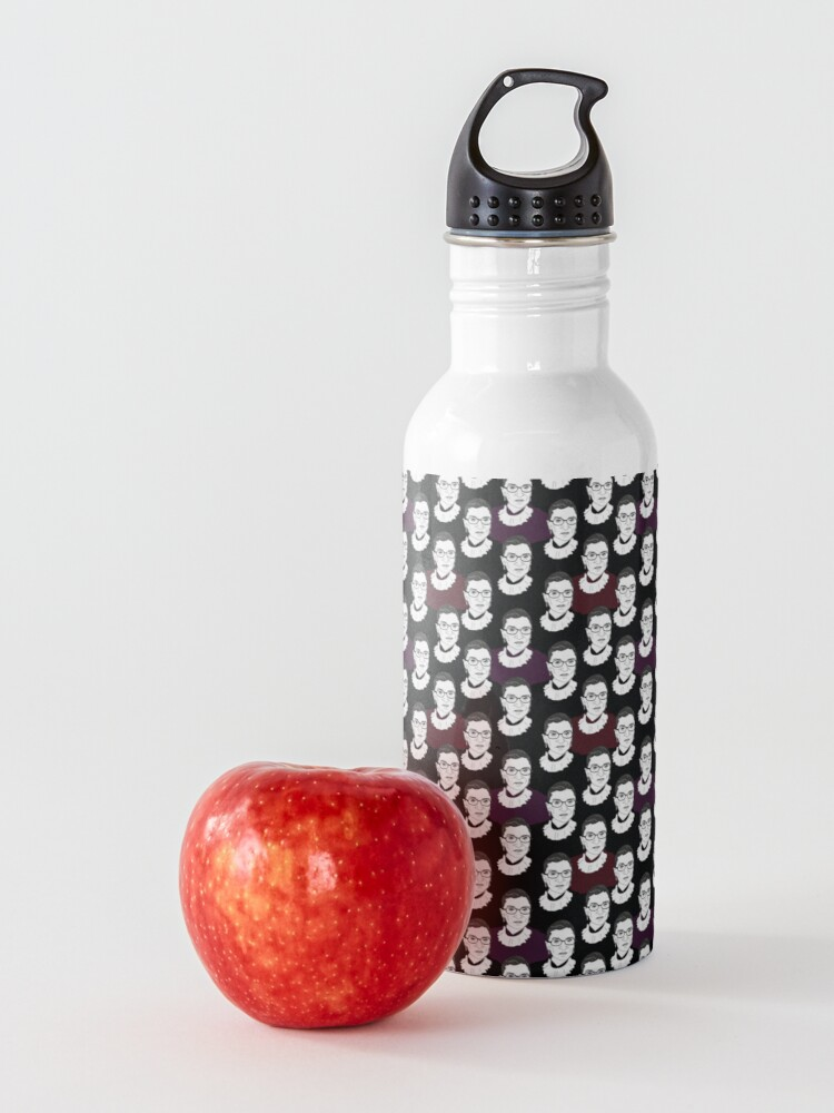 Alternate view of Ruth Bader Ginsburg Pattern Water Bottle