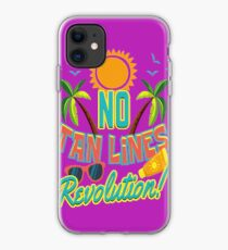 No Tan Lines Revolution | Sunbathing and Tanning iPhone Case