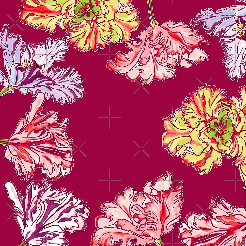 Colorful Tulips by rusanovska