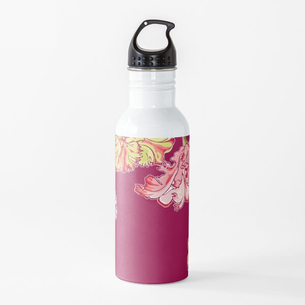 Colorful Tulips Water Bottle