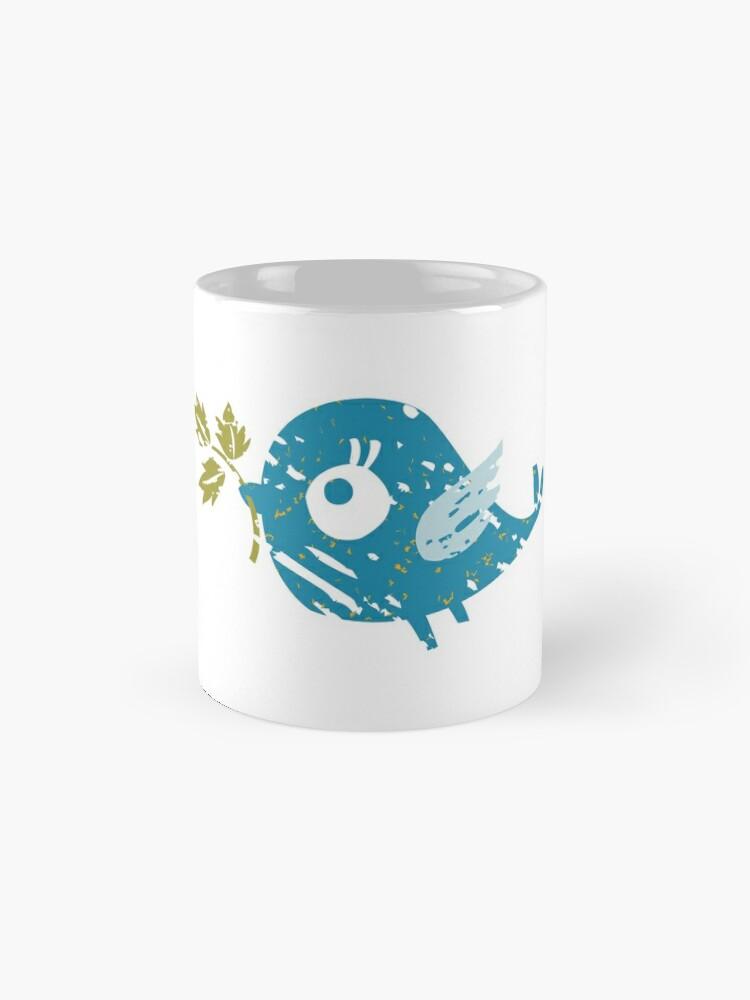 Alternate view of Blue Bird Mug