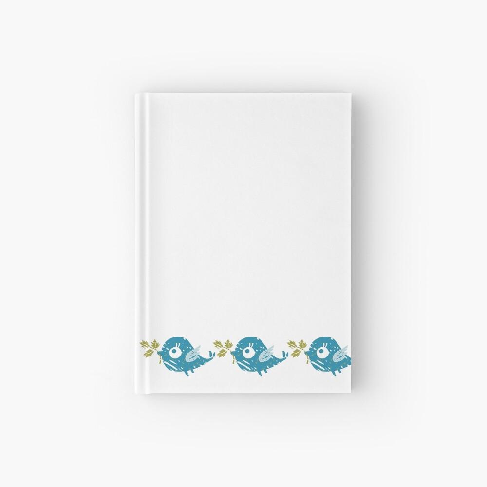 Blue Bird Hardcover Journal