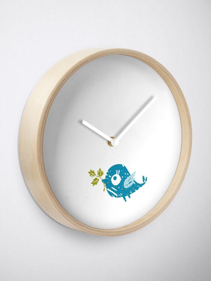 Alternate view of Blue Bird Clock