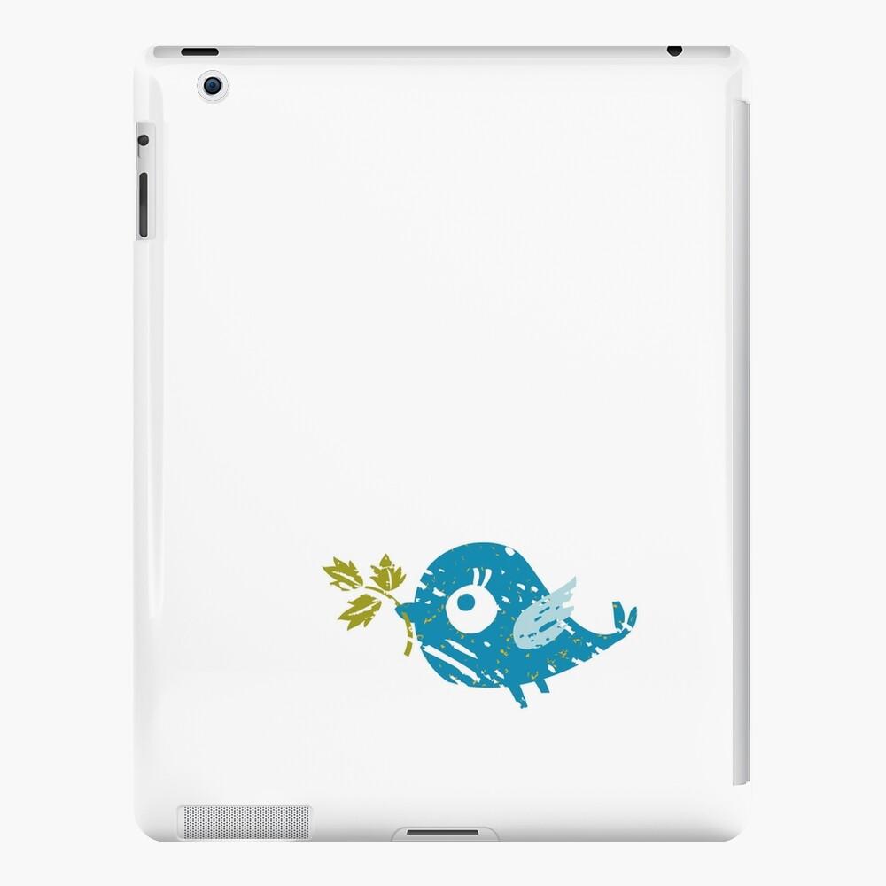Blue Bird iPad Case & Skin