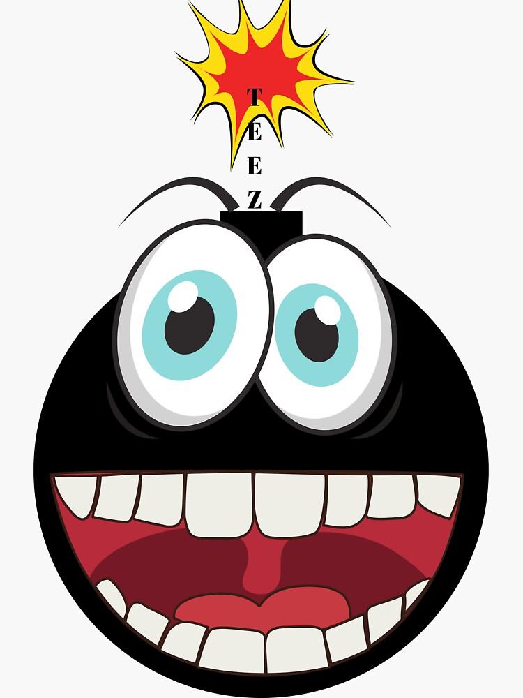 Happy Bomber Guy by T-e-e-z