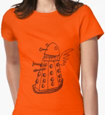 Dalek angel Women's Fitted T-Shirt