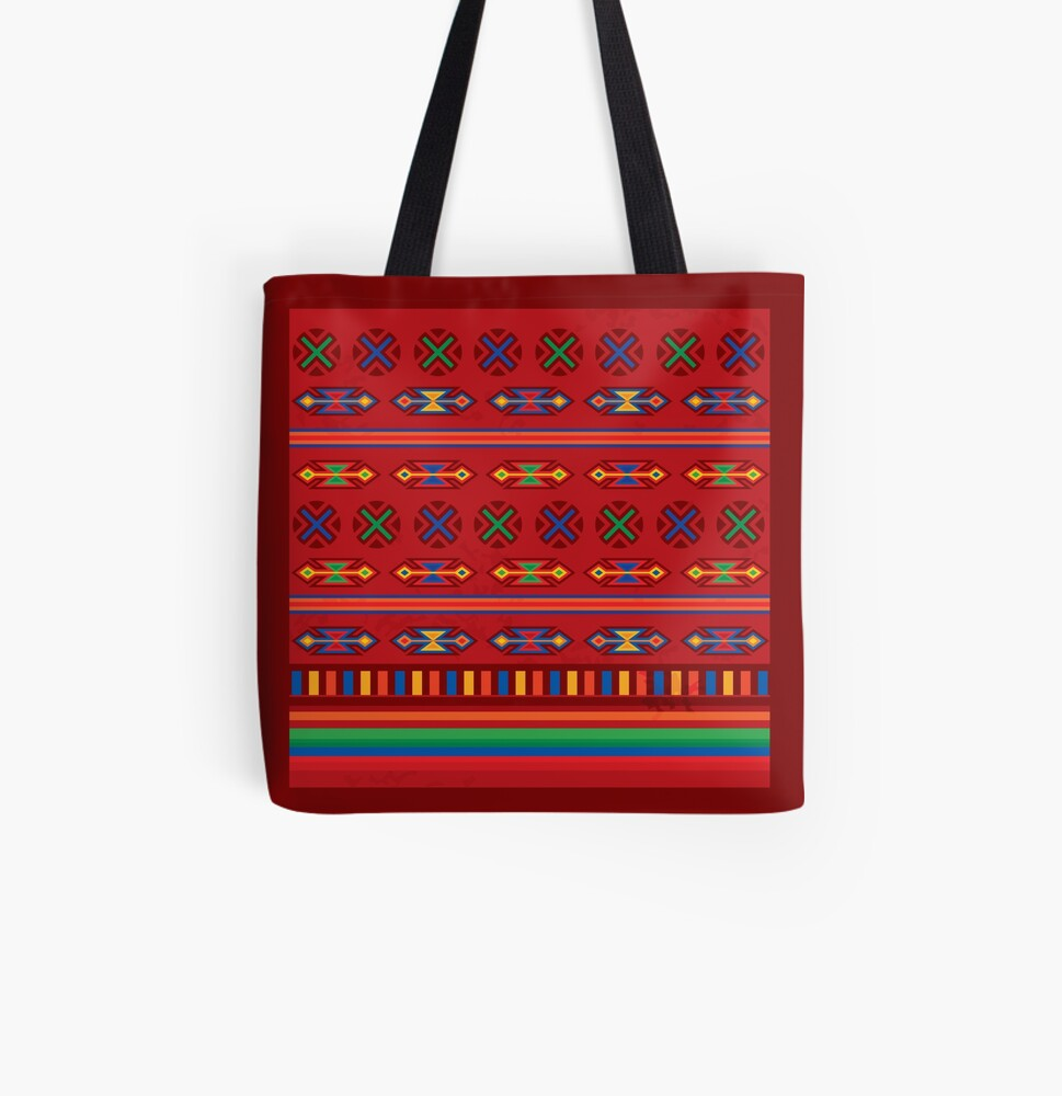 Mexico All Over Print Tote Bag
