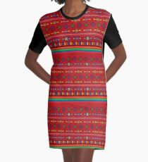 Mexico Graphic T-Shirt Dress