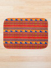 Mexican pattern Bath Mat