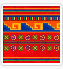 Mexican pattern Glossy Sticker