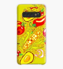 Mexican Salad Case/Skin for Samsung Galaxy