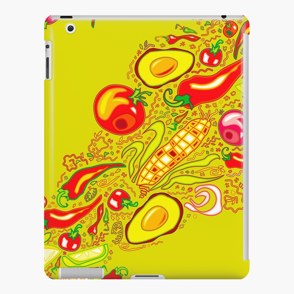 Mexican Salad iPad Snap Case