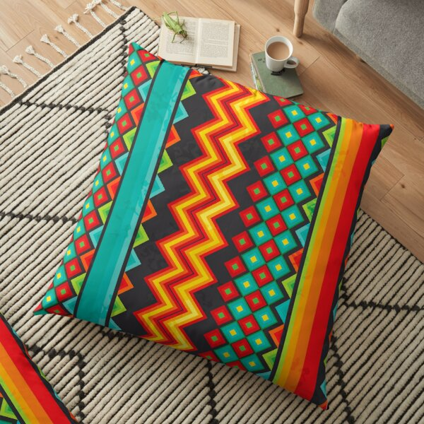 Mexican Mood Floor Pillow