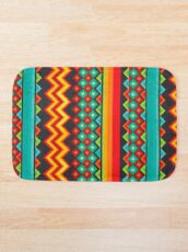 Mexican Mood Bath Mat
