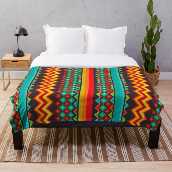 Mexican Mood Throw Blanket