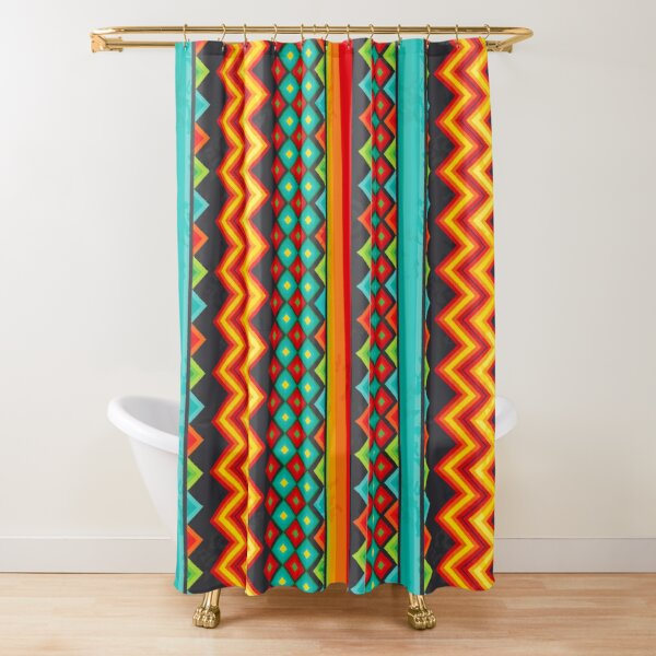 Mexican Mood Shower Curtain