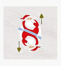 Santa. Ho-Ho-Ho! Photographic Print