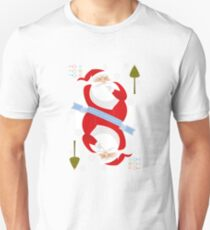 Santa. Ho-Ho-Ho! Slim Fit T-Shirt