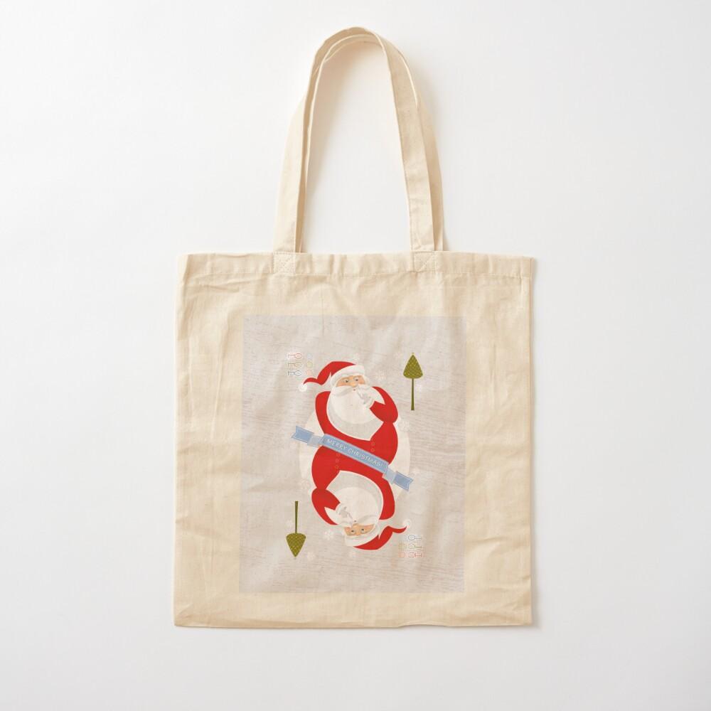 Santa. Ho-Ho-Ho! Cotton Tote Bag