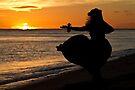 Hula Sunset II by Zach Pezzillo