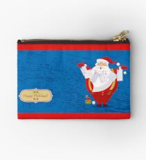 Happy Holidays! Zipper Pouch