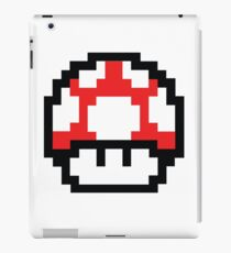 8-Bit Mario Nintendo Mushroom Red iPad Case/Skin