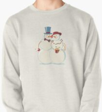 Snowmen Love Pullover Sweatshirt