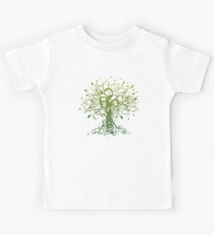 Meditate, Meditation, Spiritual Tree Yoga T-Shirt  Kids Clothes