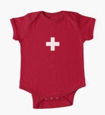 Swiss Flag - I Love Switzerland - White Cross T-Shirt Kids Clothes
