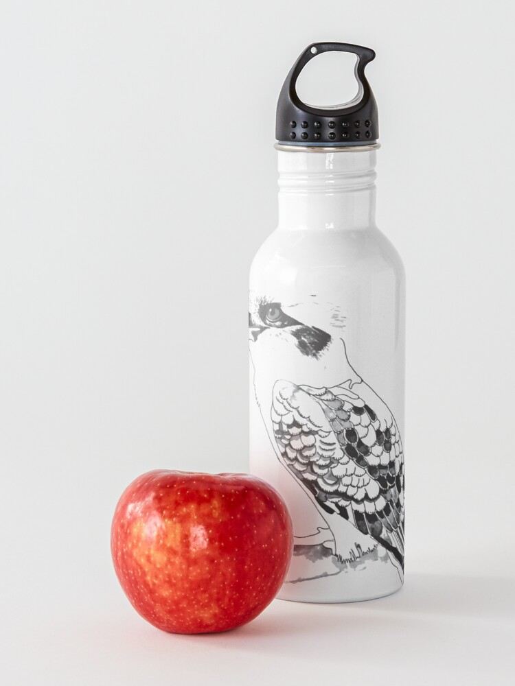 Alternate view of Kookaburra Black and White Water Bottle