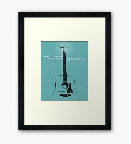 Word: Zephaniah (Acoustic) Framed Print