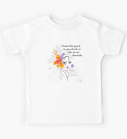 I Honor The Spirit in You Which is Also in Me Kids Clothes