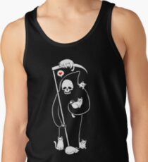 Death Is A Cat Person Tank Top