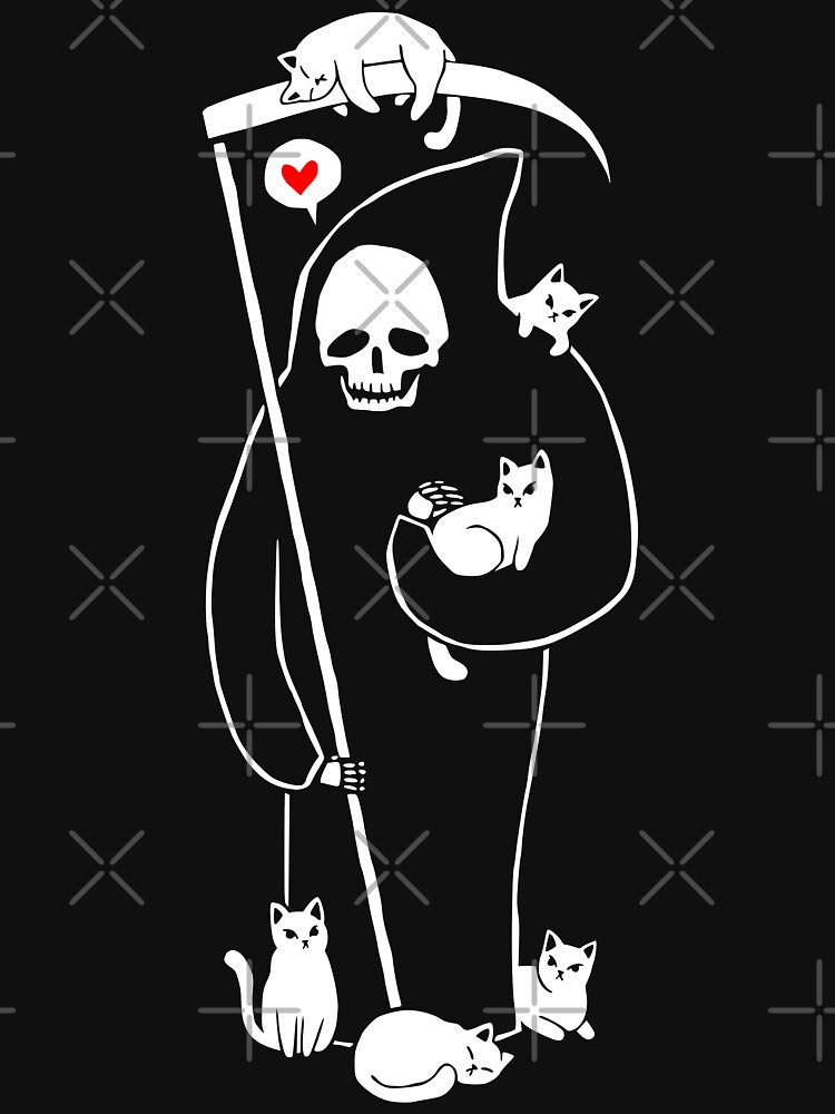 Death Is A Cat Person | Unisex T-Shirt