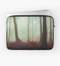 Spirit of Silence II - calm forest in fog Laptop Sleeve