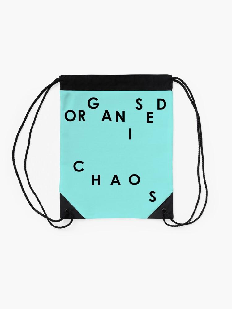 Alternate view of Organised Chaos - Drawstring Bag Drawstring Bag