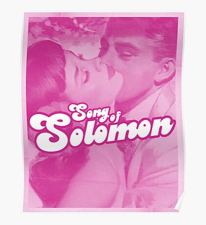 Word Leftovers: Song of Solomon 4 Poster