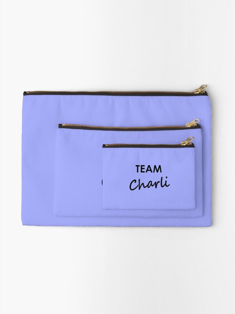 Alternate view of Team Charli - Stationery Zipper Pouch