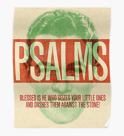 Word: Psalms 3 Poster