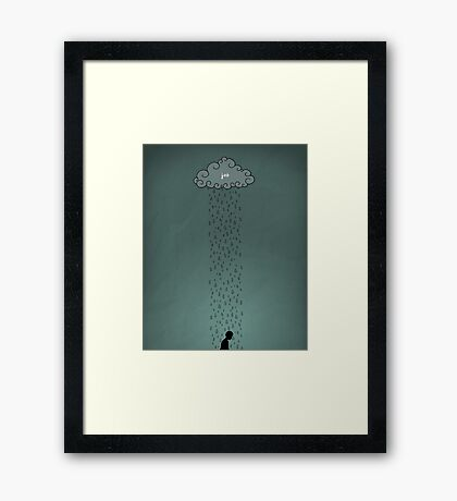 Word: Job Framed Print