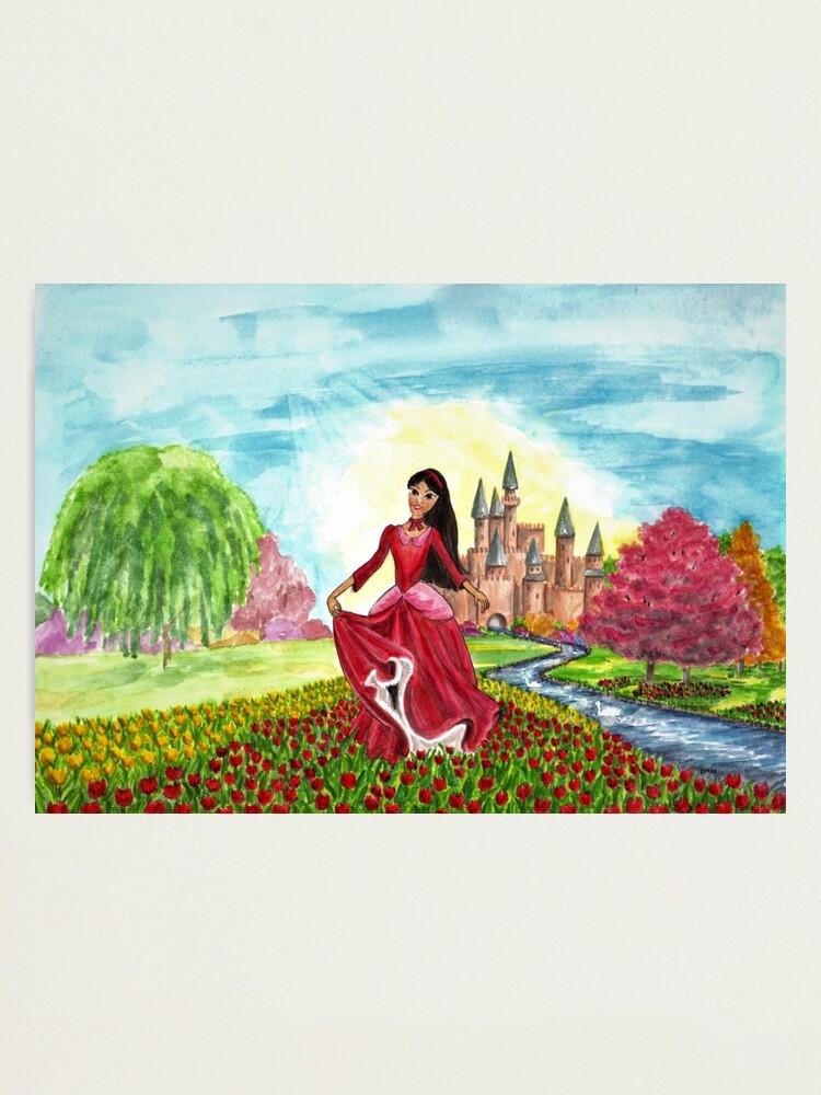 Alternate view of Princess Precious at Shining Palace - Wall Art Photographic Print