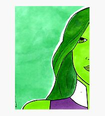 She Hulk – Legal Eagle & Badass Superhero Photographic Print
