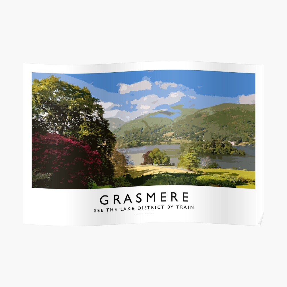 Grasmere (Railway Poster) Poster