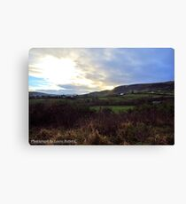 Winter afternoon, Carnlough Glen, County Antrim Canvas Print