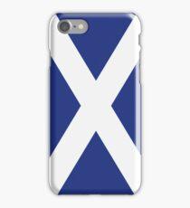 The Flag of Scotland Print iPhone Case/Skin