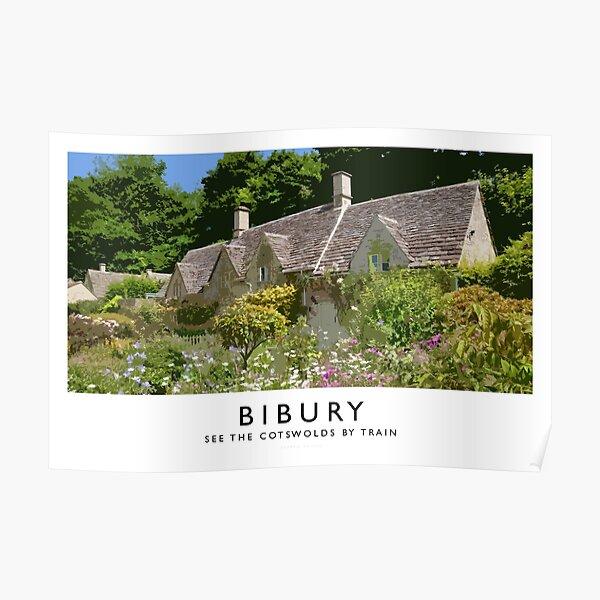 Bibury (Railway Poster) Poster