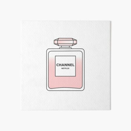 Channel Net flix by Alice Monber Art Board Print