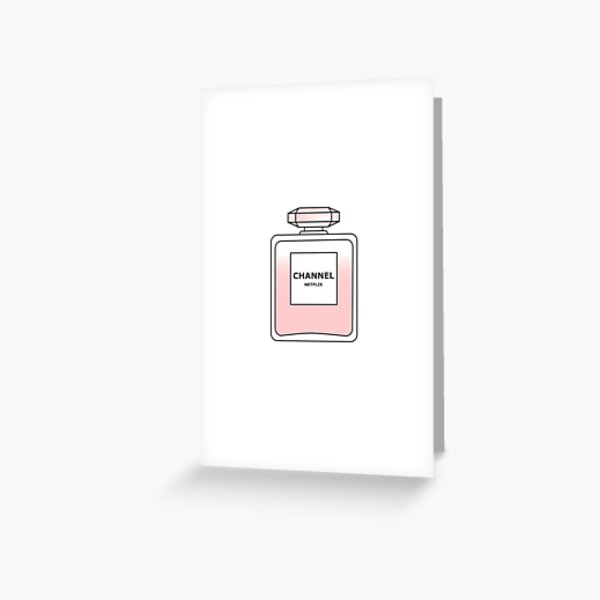 Channel Net flix by Alice Monber Greeting Card